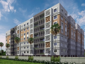 2 & 3 BHK flats and 5 BHK duplex in latur