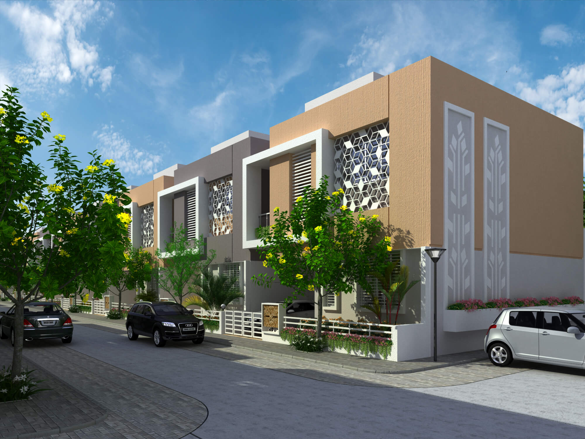 3BHK Row House