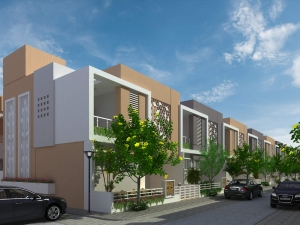 3bhk row house for sale in latur
