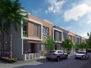4BHK new row house for sale in latur